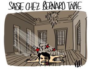 Nactualités : saisie chez Bernard Tapie