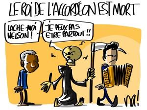 Nactualités : André Verchuren, le roi de l'accordéon, est mort