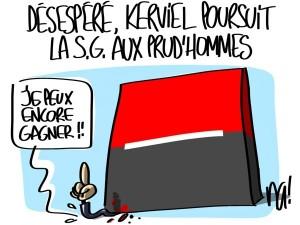 Nactualités : désespéré, Jérôme Kerviel poursuit la Société Générale aux prud'hommes