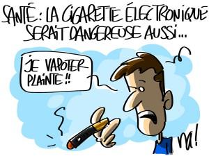 Nactualités : santé, la cigarette électronique serait dangereuse aussi…