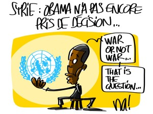 Nactualités : Guerre en Syrie, Obama n'a pas encore pris de décision…