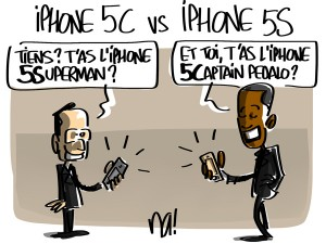Nactualités : Iphone 5C vs Iphone 5S