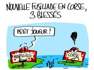 Nactualités : nouvelle fusillade en Corse, 3 blessés.