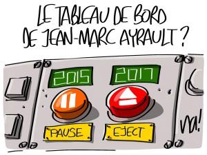 Nactualités : le tableau de bord de Jean-Marc Ayrault ?