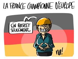 Nactualités : la France championne d'Europe