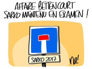 Nactualités : affaire Bettencourt, Nicolas Sarkozy maintenu en examen