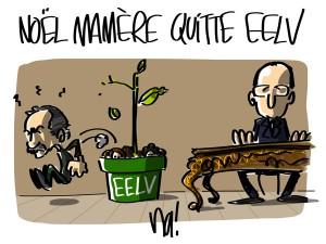 Nactualités : Noël Mamère quitte EELV