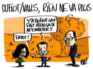 Nactualités : Duflot/Valls, rien de va plus