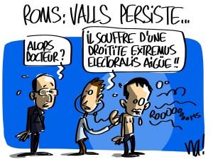 Nactualités : Roms, Manuel Valls persiste…