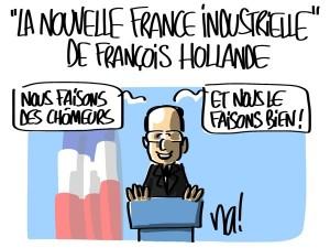 Nactualités : «la nouvelle France industrielle» de François Hollande