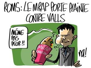 Nactualités : Roms, le MRAP porte plainte contre Valls