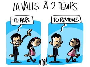 Nactualités : la Valls à 2 temps