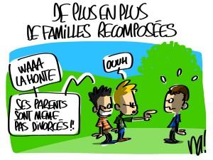 Nactualités : de plus en plus de familles recomposées