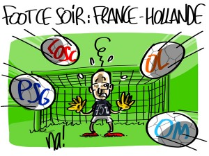 Nactualités : foot ce soir, France-Hollande