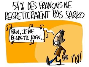 Nactualités : 54% des Français ne regretteraient pas Nicolas Sarkozy