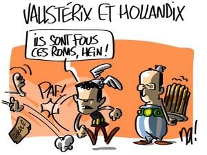 Nactualités : Vallsterix et Hollandix