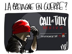 Nactualités : la Bretagne en guerre ?