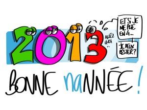 Bonne nannée 2014 !
