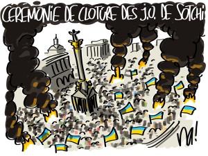 Kiev fête sotchi !