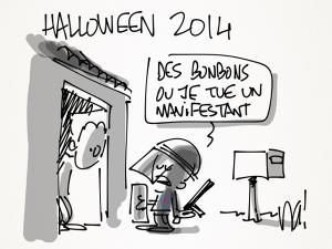 l'Halloween 2014 que vous ne verrez pas sur BFMTV