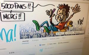 5000 fans sur facebook