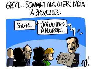 La manche à Bruxelles