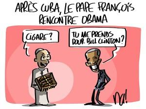 en passant par Cuba…
