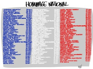 hommage national