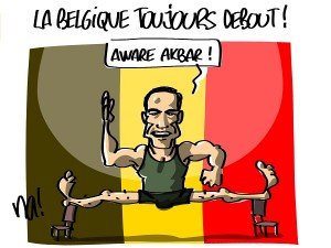 La Belgique toujours debout !