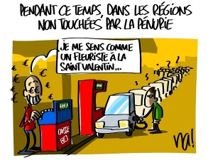 pénurie de carburant