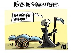 Décès de Shimon Peres