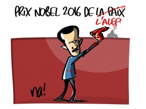 Prix Nobel de la paix 2016