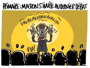Emmanuel Macron s'invite à la dernière primaire de la droite