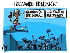 Hollande renonce