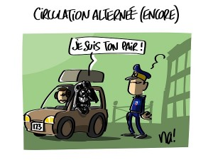 circulation alternée (encore !)