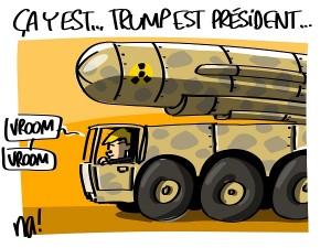 ça y est, Trump est président…