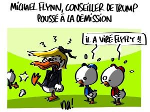 Michael Flynn, conseiller de Donald Trump, poussé à la démission