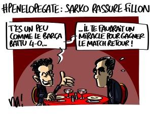 #penelopegate : Sarko rassure Fillon