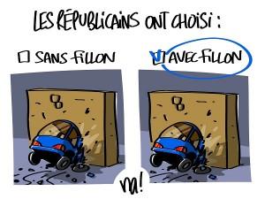 Les républicains ont finalement choisi Fillon