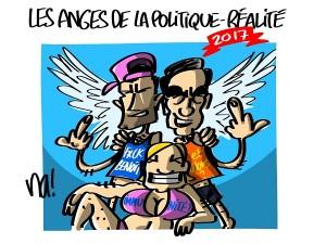 Fillon en examen, Le Pen poursuivie, Valls traitre…