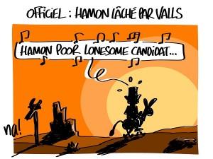 Officiel : Hamon lâché par Valls