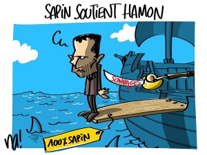 Sapin soutient Hamon