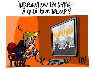 Intervention en Syrie : à quoi joue Trump ?