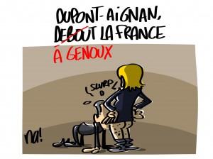 Dupont-Aignan rejoint Le Pen
