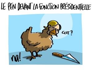 Marine Le Pen et la fonction présidentielle