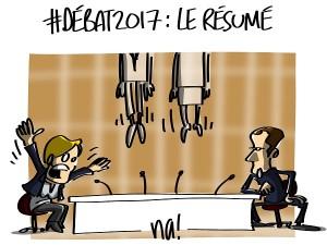 #2017LeDébat : le résumé