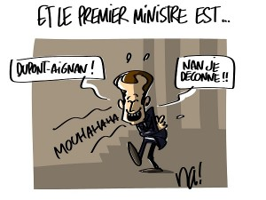 On attend le nom du premier ministre…