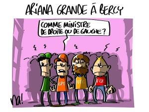 Ariana Grande à Bercy