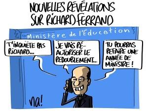 Nouvelles révélations sur Richard Ferrand