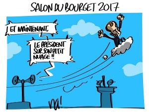 Macron au salon du Bourget
